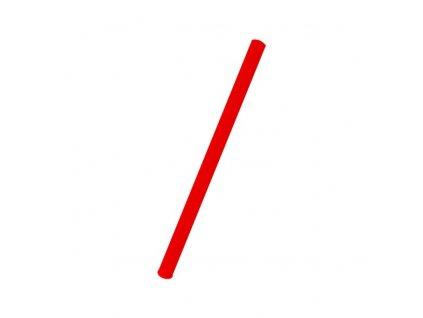 Slámky Jumbo červené