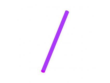 Slámky Jumbo fialové