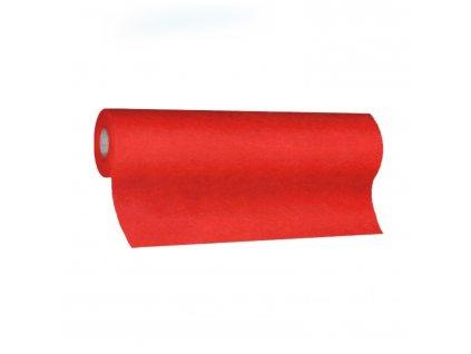 Středový pás PREMIUM 24m×40cm červený