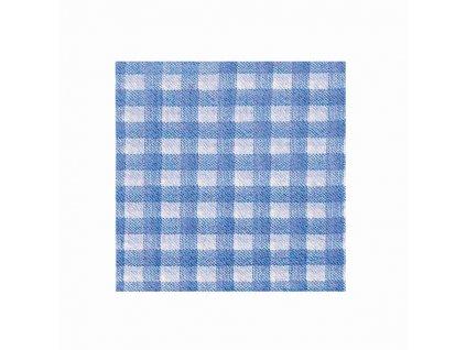 Ubrousky 1vrstv. 33×33 KARO modré