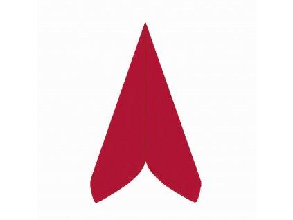 Ubrousky PREMIUM 40×40cm červené
