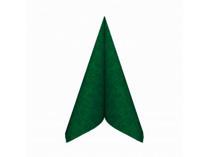 Ubrousky PREMIUM 40×40cm ''dekor R'' tmavě zelené