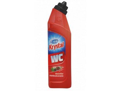 Krystal WC cerveny 750ml