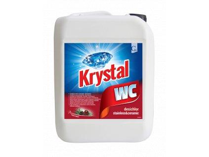 Krystal WC cerveny 5l