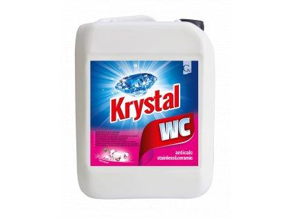 Krystal WC ruzovy 5l