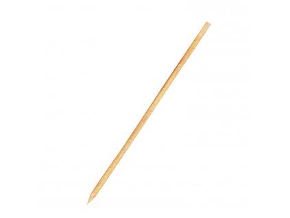 Dřevěné špejle hrocené 20 cm, Ø 3 mm