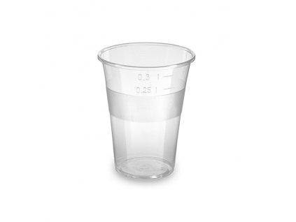 Kelímek průhledný 0,3 l -PP- (Ø 84 mm)