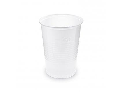 Kelímek bílý 0,4 l -PP- (Ø 95 mm)