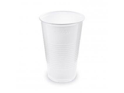 Kelímek bílý 0,5 l -PP- (Ø 95 mm)