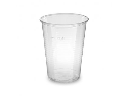 Kelímek průhledný 0,4 l -PP- (Ø 95 mm)
