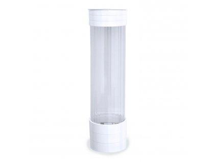 Plastový zásobník kelímků Ø 70 mm, bílý