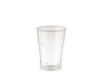 Kelímek krystal 0,2 l (Ø 73 mm)