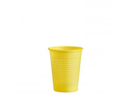 Kelímek žlutý 0,18 l -PS- (Ø 70 mm)