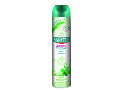 42639410 SANYTOL dezinfekce osvezovac vzduch mentholova vune 357x1024