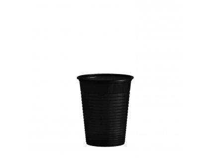 Kelímek černý 0,18 l -PS- (Ø 70 mm)