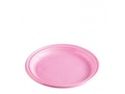 Talíř růžový (PS) Ø 22 cm