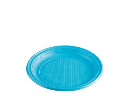 Talíř světle modrý (PS) Ø 22 cm