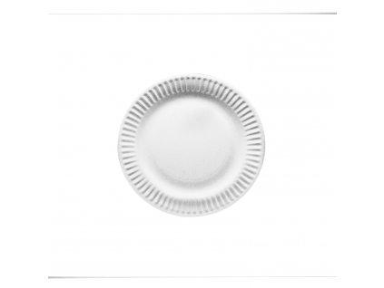 Papírové talíře mělké Ø 15 cm