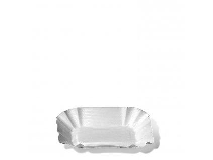 Papírové misky hranaté 9 x 14 x 3 cm