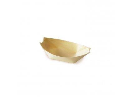 Fingerfood miska dřevěná, lodička 8 x 5,5 cm
