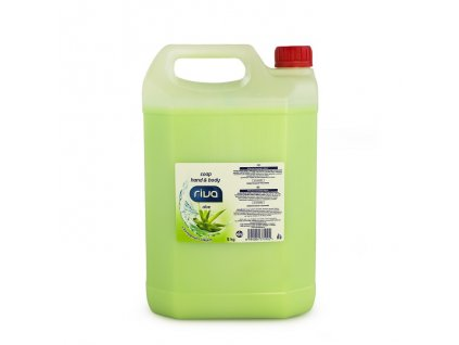 riva tekute mydlo aloe s konopnym olejem 5kg