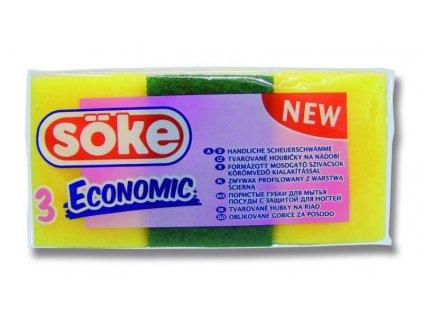 SOKE EC. tvarovaná houbička