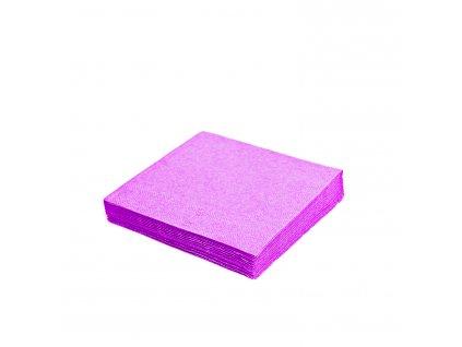 Ubrousky 3-vrstvé 40×40cm světle fialové