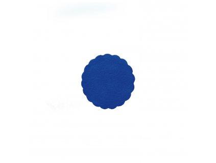 Rozetky PREMIUM Ø 9 cm tmavě modré