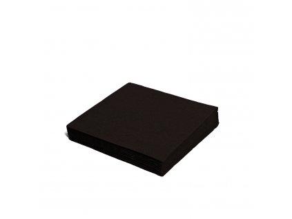 Ubrousky 2-vrstvé, 24×24cm černé