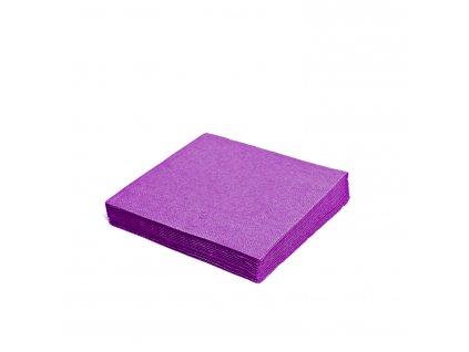 Ubrousky 2-vrstvé 33×33cm tmavě fialové