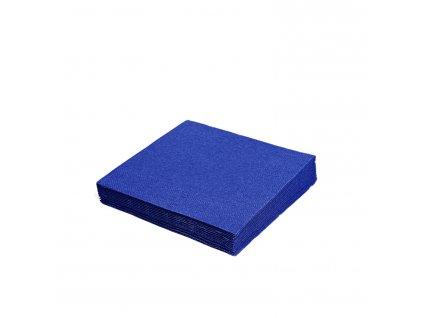 Ubrousky 2-vrstvé 33×33cm tmavě modré