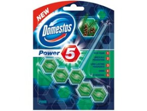 Domestos WC blok Power 5 Pine 55g