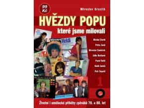 kniha Graclik 13 Hvezdy popu 1