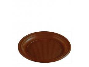 Talíř hnědý (PS) Ø 22 cm