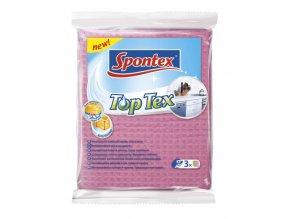 Sponge cloth top tex/3 víceúčelová utěrka SPONTEX