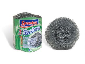 Spontex steelmax dratenka kovova 3ks