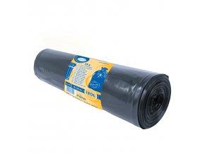 120l Pytle na odpadky černé 70×110cm