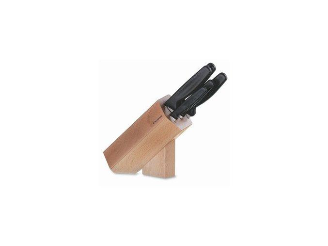 Blok s 5-dílnou univerzální sadou nožů Victorinox