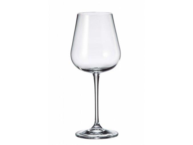 Sada 6 kusů sklenic na bílé víno ARDEA 450ml Crystalite Bohemia