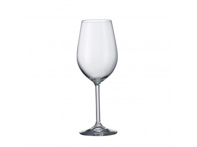 Sada 6 kusů sklenic na bílé víno  COLIBRI 350ml Crystalite Bohemia