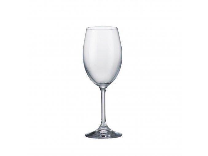 Crystalite Bohemia Sklenice na bílé víno KLARA, 250ml, 6 Kusů