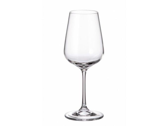 Sada 6 kusů sklenic na bílé víno STRIX 360ml Crystalite Bohemia