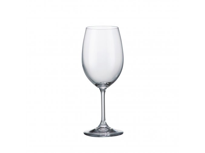 Crystalite Bohemia Sklenice na červené víno KLARA, 350ml, 6 Kusů