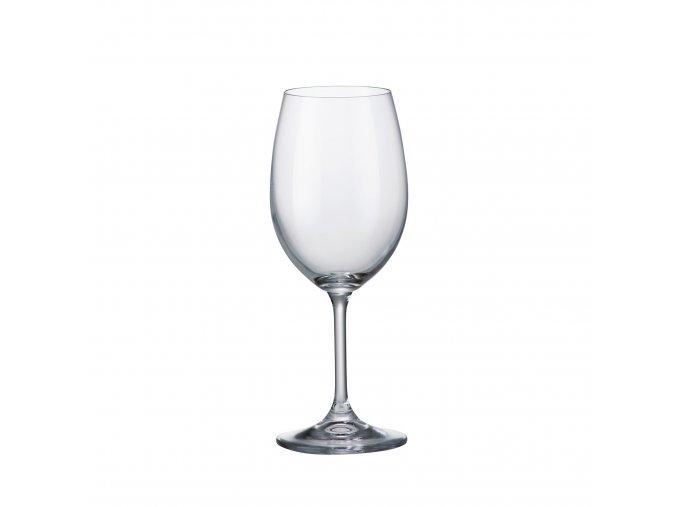 Sada 6 kusů sklenic na červené víno SYLVIA 350ml Crystalite Bohemia