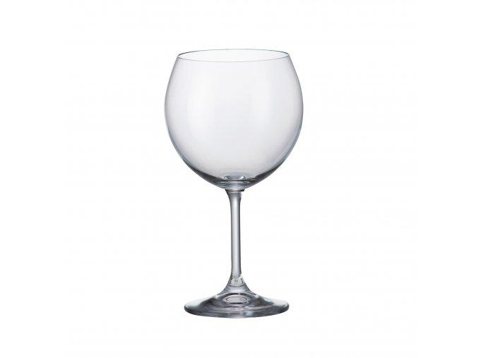 Sada 6 kusů sklenic na červené víno SYLVIA 460ml Crystalite Bohemia