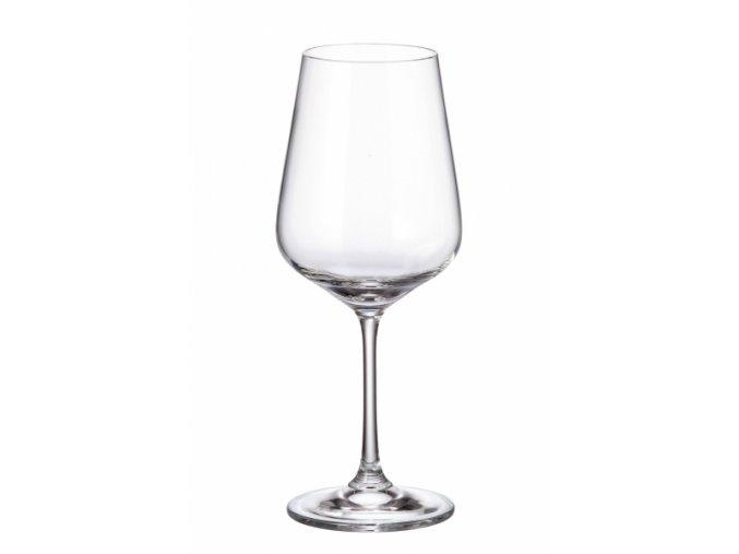 Sada 6 kusů sklenic na červené víno STRIX 450ml Crystalite Bohemia