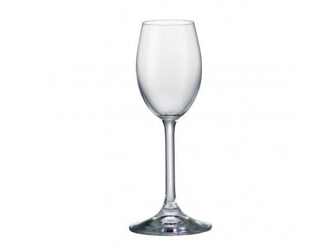 Sada 6 kusů sklenic na likér SYLVIA 65ml Crystalite Bohemia