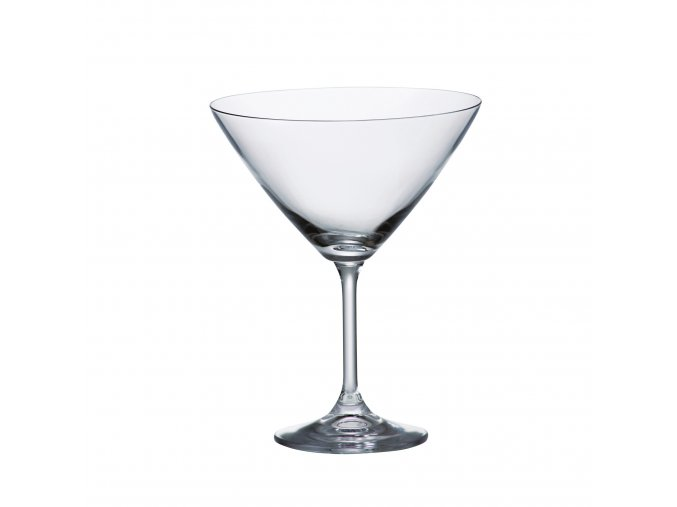Crystalite Bohemia Sklenice na martini KLARA, 280ml, 6 Kusů