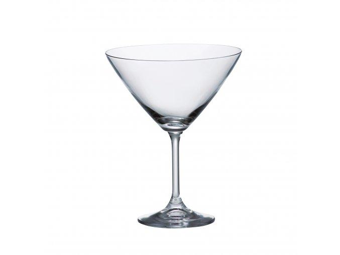 Sada 6 kusů sklenic na martini SYLVIA 280ml Crystalite Bohemia