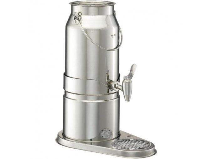 Frilich Elegance výdejník dávkovač na nápoje mléko 5 l nerez výtokový ventil pro bufet párty snídaně